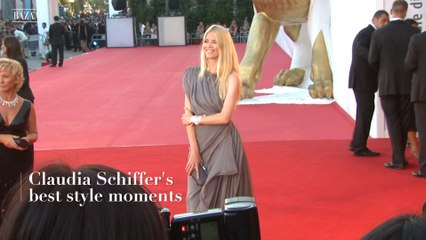 Claudia Schiffer's best style moments