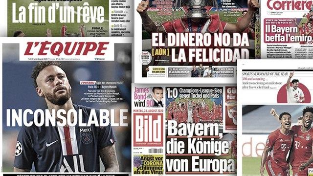 La presse européenne se moque du PSG
