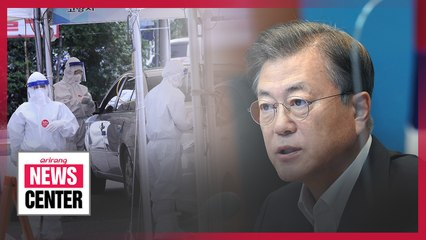 President Moon urges public cooperation in quarantine efforts to avoid level 3 social distancing rules