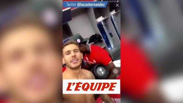 Hernandez tacle le PSG - Foot - WTF - Bayern