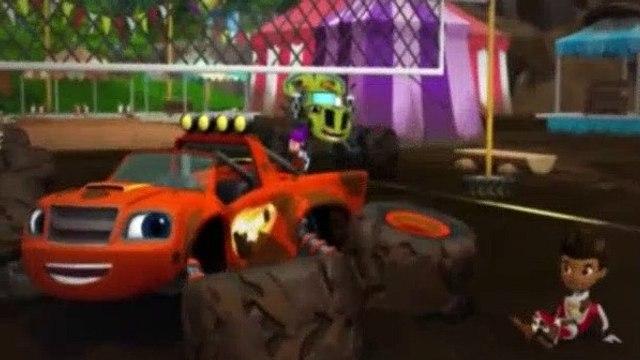 Blaze and the Monster Machines Season 1 Episode 13 Gasquatch