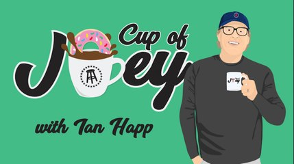 Cup Of Joey With Chicago Cubs Centerfielder Ian Happ