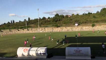 ASSE B 1-0 Besançon : le but d'Abdoulaye Sidibe