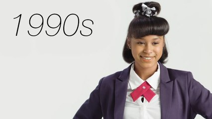 100 Years of Girls School Uniforms