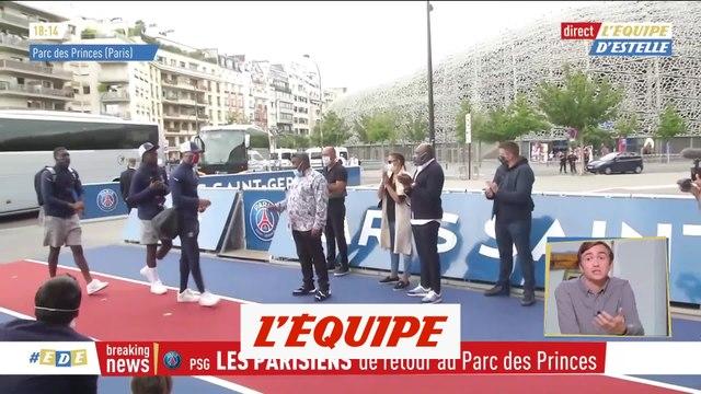 Le retour du PSG au Parc des Princes - Foot - C1 - PSG