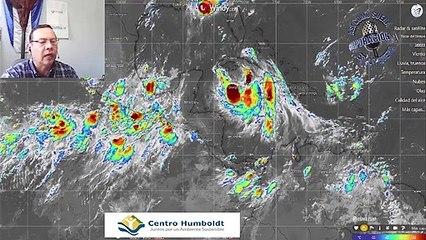 Lluvias continuarán en horas de la tarde en el territorio nacional