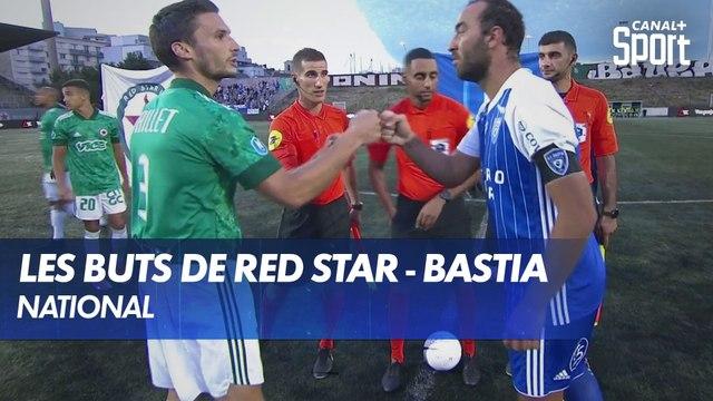 Match complètement fou entre le Red Star et Bastia !