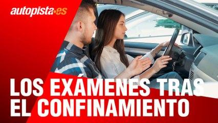 Qué ocurre con los exámenes de conducir de la DGT