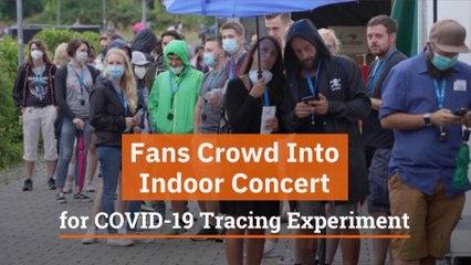 The COVID-19 Fan Experiment