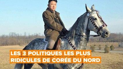 Même les animaux domestiques ne sont pas à l'abri des politiques ridicules de Kim Jong-Un
