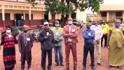 Bac 2020 à Labé  : lancement des premières épreuves  à Hoggo M'Bouro par le Gouverneur, Madifing Diané