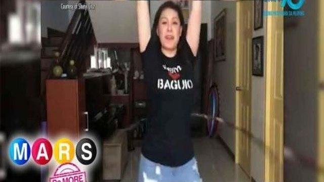 """Mars Pa More: Sheryl Cruz, isa nang ganap na """"Hula Hoop Diva!"""""""