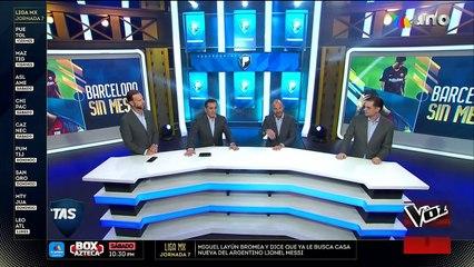 ¿Se va o no Messi?   Azteca Deportes