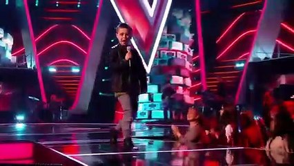 George performs on The Voice