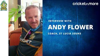 Interview With St Lucia Zouks' Coach Andy Flower