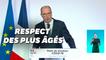 Jean Castex réclame le respect des plus vulnérables, notamment des personnes âgées.