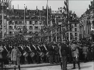 Les fêtes de la Victoire, Paris