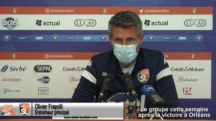 (J02) Laval vs Avranches, avant-match avec O.Frapolli