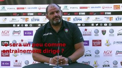 Toulon - RCT: un match qui doit servir à l'équipe