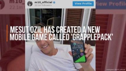 Mesut Ozil Makes A Game