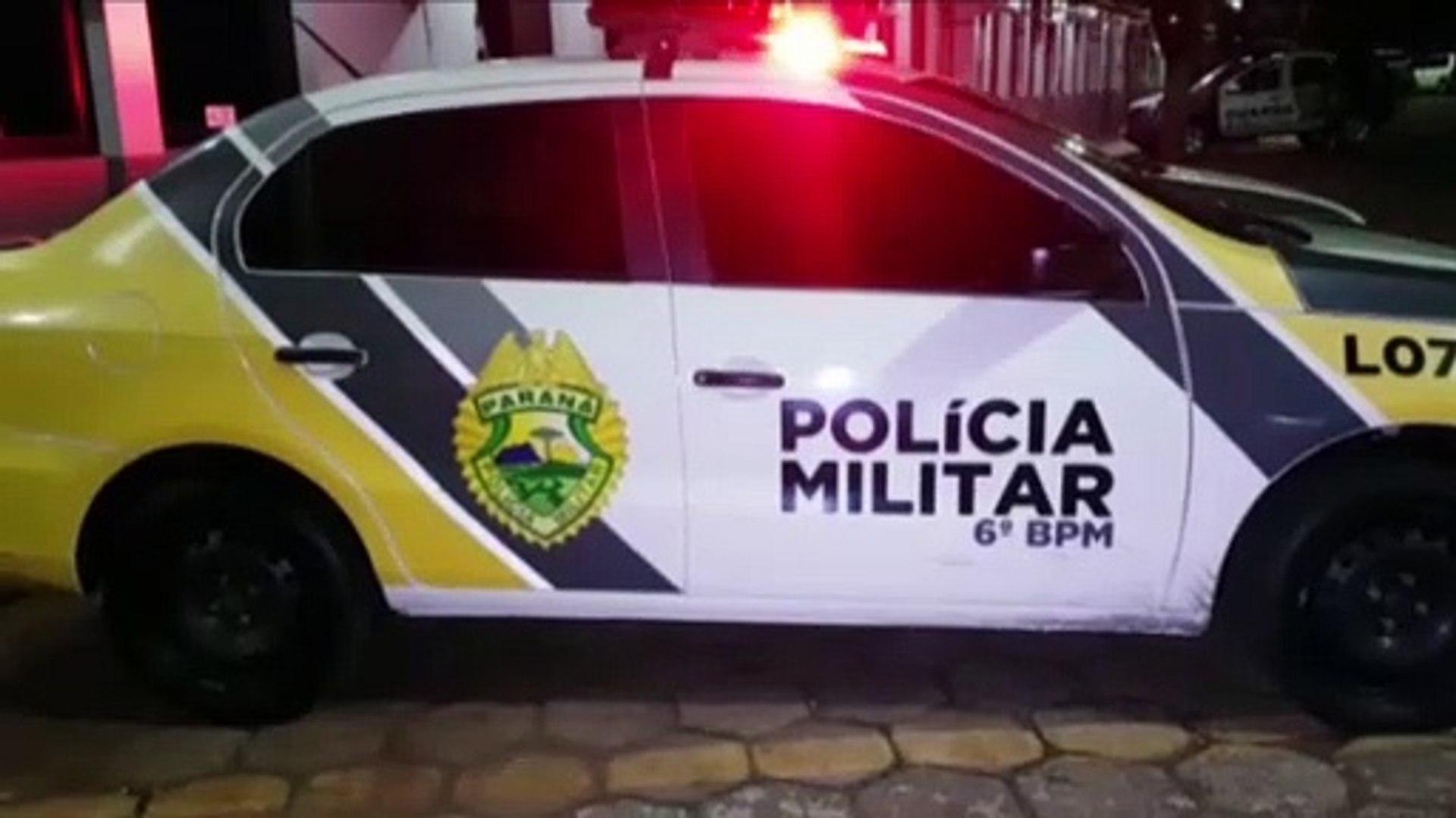 Homem é detido após agredir a esposa e riscar o carro do sobrinho
