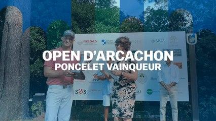 Open d'Arcachon : Poncelet et Couvra titrés
