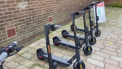 Hartlepool E-Scooter Trial Launch