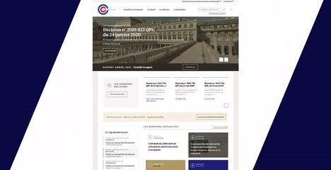 Le moteur de recherche experte du site du Conseil