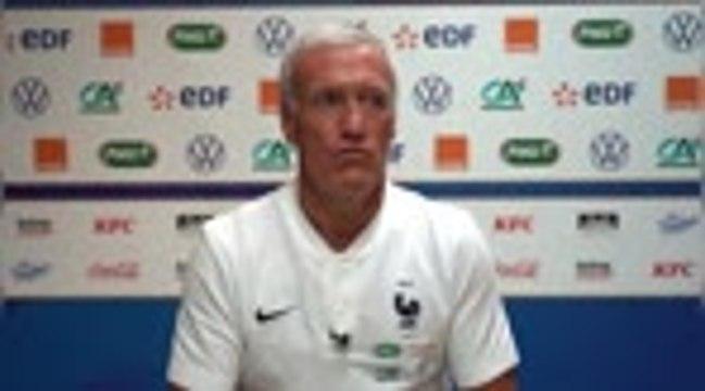 """France - Deschamps : """"Mbappé et Martial peuvent jouer ensemble"""""""