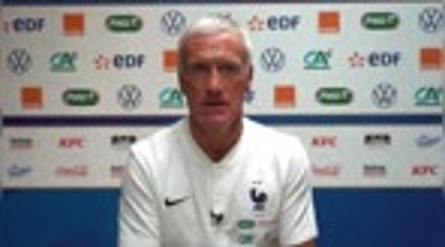 "France - Deschamps : ""Camavinga aura du temps de jeu"""