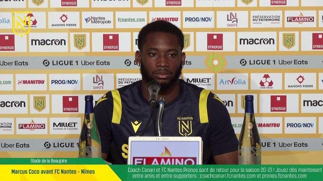 REPLAY I Marcus Coco avant FC Nantes - Nîmes