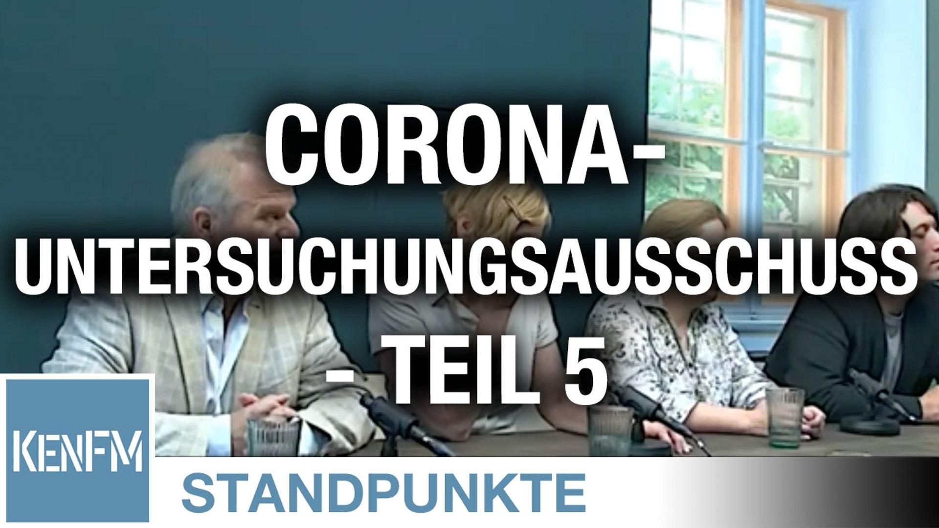 Corona-Untersuchungsausschuss – Teil 5 | Von Jochen Mitschka