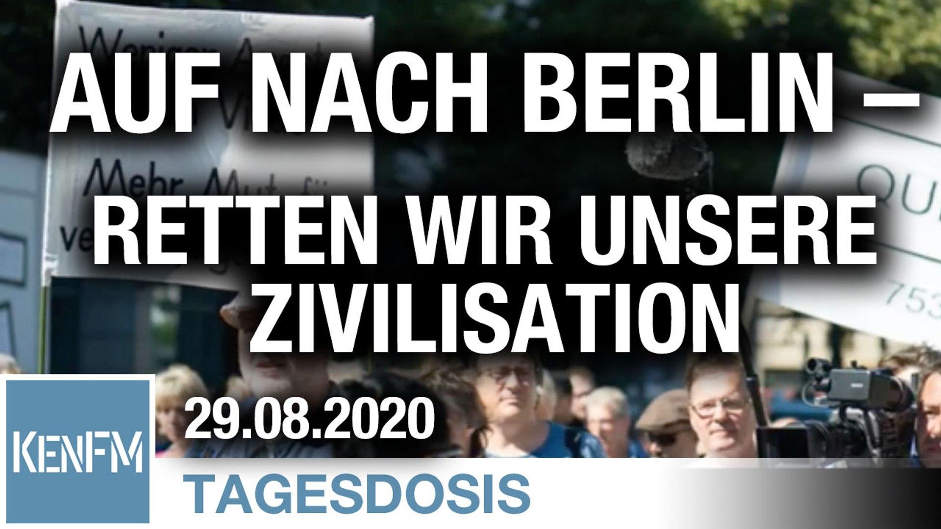 Auf nach Berlin – Retten wir unsere Zivilisation | Von Hermann Ploppa