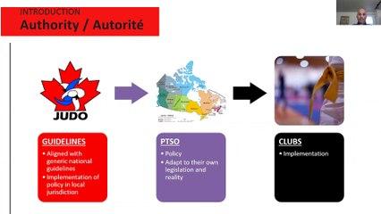 Webinar -Webinaire 27/08/2020 Judo in Time of social distancing - Phase 1 & 2 - Le Judo en temps de distanciation sociale