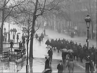 Manifestations sur  les Boulevards et place de la Madeleine, Paris