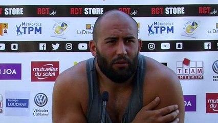 """Soury avant Toulon Rouge VS Toulon Noir """"Même si c'est un match entre nous, je veux le gagner"""""""