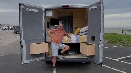 Alan Jones makes his own camper van