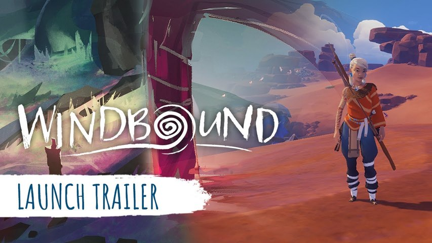 Windbound - Launch Trailer | Gamescom 2020
