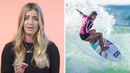 Pro Surfer Caroline Marks' Daily Routine and Surf Style