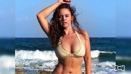 """""""Sirena encantada"""" le dicen a Liliana González por foto debajo del agua"""