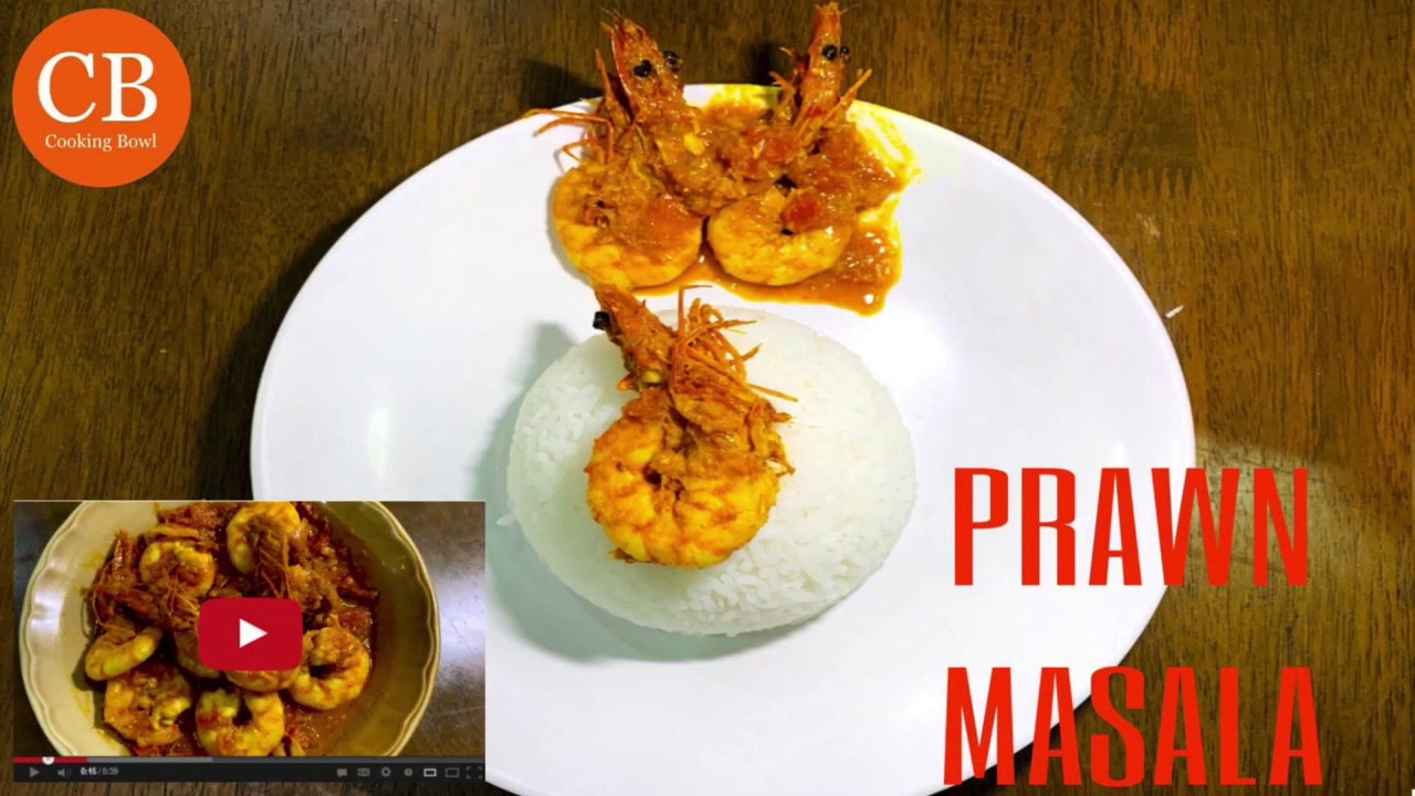 Easy Prawn Masala Recipe | Mouthwatering Prawn Masala | Chingri Masala Recipe by CookingBowlYT