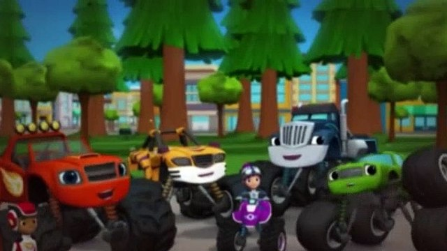 Blaze and the Monster Machines Season 2 Episode 1 Fired Up