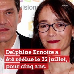 """Delphine Ernotte, PDG de France Télévisions : """"La télé accompagne rassemble et structure"""""""