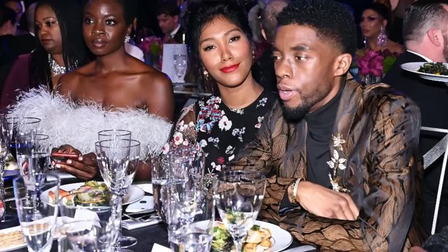 Who be Chadwick Boseman wife ?