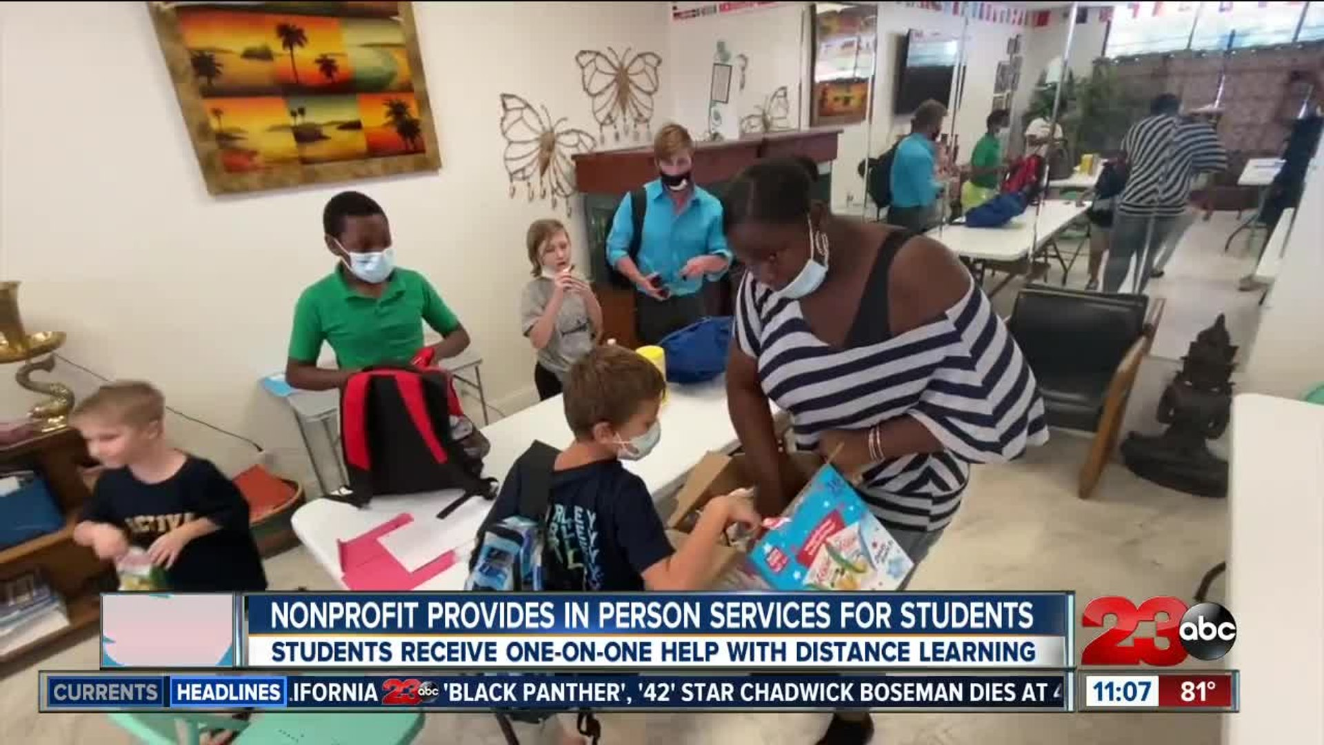 Non-profit Cultural Elegance Studio helps students with distance learning