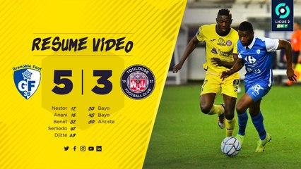Le résumé vidéo de Grenoble/TFC, 2ème journée de Ligue 2 BKT