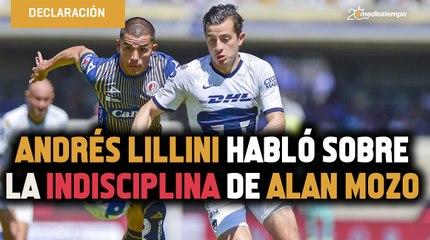 Andrés Lillini habló sobre la indisciplina de Alan Mozo y su fiesta