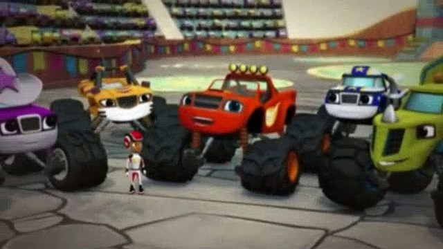Blaze and the Monster Machines Season 2 Episode 4 Race to the Top of the World