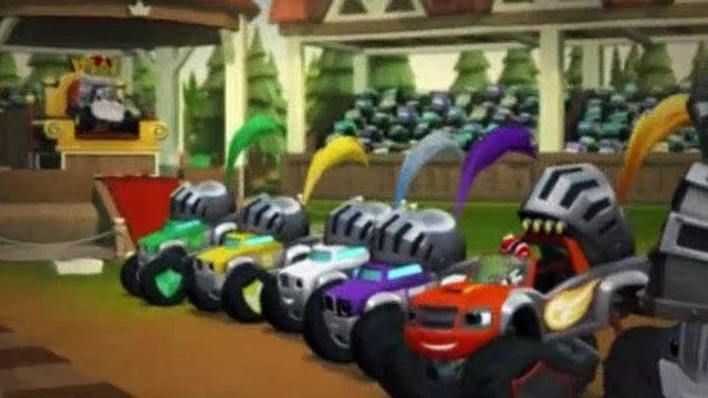 Blaze and the Monster Machines Season 2 Episode 7 Knight Riders