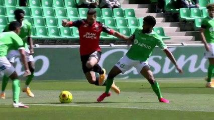 Le résumé de AS Saint-Etienne - FC Lorient (2-0) 20-21